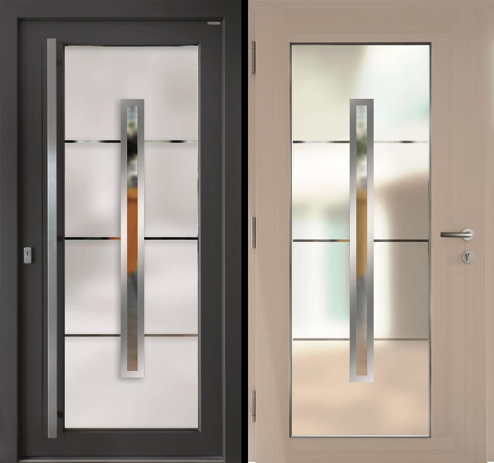 Haustür innen  Haustüren aus Holz-Alu | KOWA