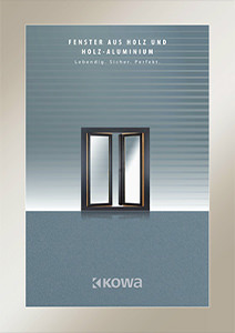 Fenster aus Holz und Holz-Aluminium