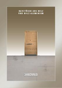 Haustüren holz  Haustüren aus Holz | KOWA