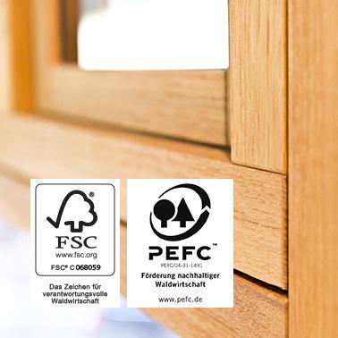 FSC®/ PEFC™ CoC Zertifizierung